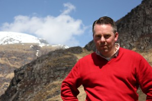 Patrick Brand in Schotland